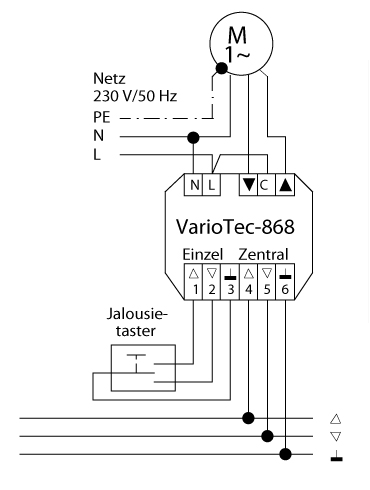 Elero Variotec 868 Rm Set Alpinwei
